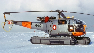 Photo ID 120218 by Baldur Sveinsson. Denmark Navy Sud Aviation SE 3160 Alouette III, MM6771