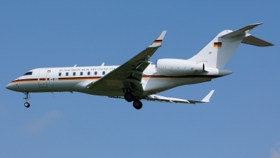 Photo ID 120308 by Klemens Hoevel. Germany Air Force Bombardier BD 700 1A11 Global 5000, 14 02