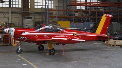 Photo ID 120626 by Niels Roman / VORTEX-images. Belgium Air Force SIAI Marchetti SF 260M, ST 04