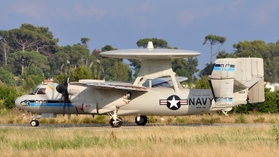 Photo ID 120490 by Radim Spalek. USA Navy Grumman E 2C Hawkeye, 165648