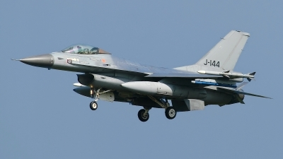 Photo ID 120639 by Rainer Mueller. Netherlands Air Force General Dynamics F 16AM Fighting Falcon, J 144