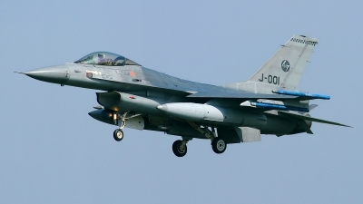 Photo ID 120680 by Rainer Mueller. Netherlands Air Force General Dynamics F 16AM Fighting Falcon, J 001
