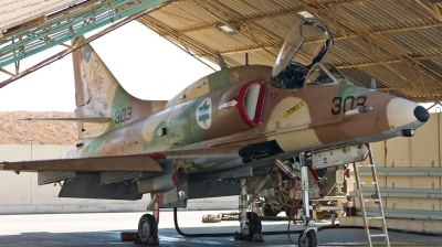 Photo ID 120707 by Andreas Zeitler - Flying-Wings. Israel Air Force McDonnell Douglas A 4N AhitM, 303