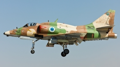 Photo ID 120706 by Andreas Zeitler - Flying-Wings. Israel Air Force McDonnell Douglas A 4N AhitM, 342