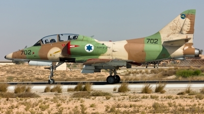 Photo ID 120752 by Andreas Zeitler - Flying-Wings. Israel Air Force McDonnell Douglas TA 4J AyitM, 702