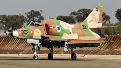 Photo ID 120730 by Andreas Zeitler - Flying-Wings. Israel Air Force McDonnell Douglas A 4N AhitM, 302