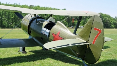 Photo ID 121404 by W.A.Kazior. Private Military Aviation Museum Polikarpov I 15bis, N3815R