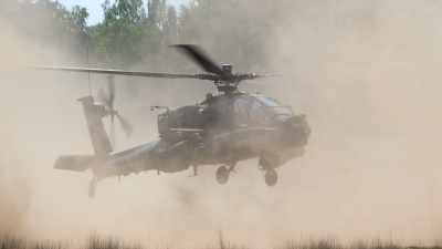 Photo ID 121117 by Joan le Poole. Netherlands Air Force Boeing AH 64D Apache, Q 19