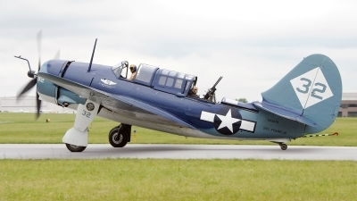 Photo ID 121314 by W.A.Kazior. Private Commemorative Air Force Curtiss SB2C 5 Helldiver, NX92879