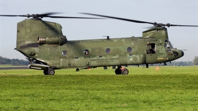 Photo ID 15770 by Alex van Noye. Netherlands Air Force Boeing Vertol CH 47D Chinook, D 663