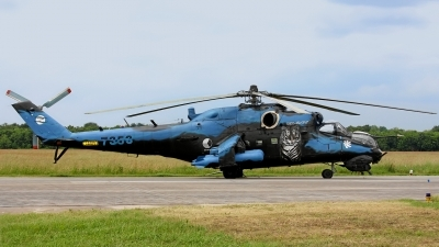 Photo ID 121600 by Rainer Mueller. Czech Republic Air Force Mil Mi 24V, 7353