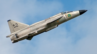 Photo ID 121632 by Benjamin Scheffler. Private Swedish Air Force Historic Flight Saab AJS 37 Viggen, SE DXN