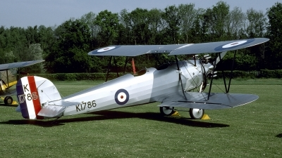 Photo ID 121668 by Joop de Groot. Private Shuttleworth Collection Hawker Tomtit, G AFTA