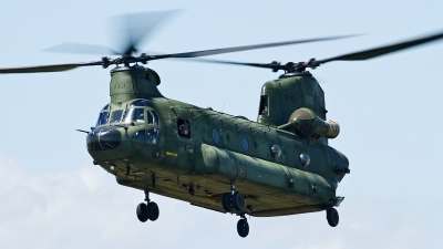 Photo ID 122734 by Thomas Ziegler - Aviation-Media. Netherlands Air Force Boeing Vertol CH 47D Chinook, D 101