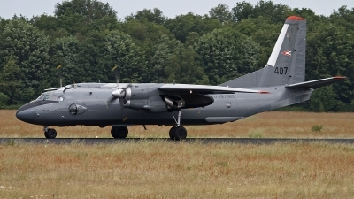 Photo ID 121872 by Niels Roman / VORTEX-images. Hungary Air Force Antonov An 26, 407