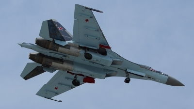Photo ID 121841 by Lukas Kinneswenger. Russia Air Force Sukhoi Su 35S,