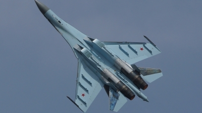 Photo ID 121840 by Lukas Kinneswenger. Russia Air Force Sukhoi Su 35S,