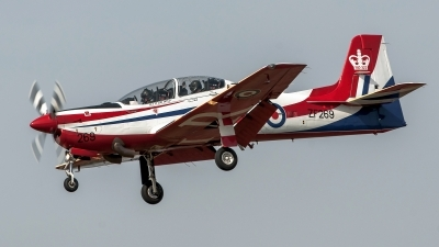Photo ID 122044 by Petr Pospisil. UK Air Force Short Tucano T1, ZF269