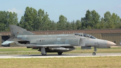 Photo ID 122383 by Peter Boschert. Germany Air Force McDonnell Douglas F 4F Phantom II, 38 67