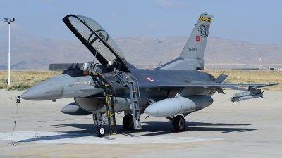Photo ID 122255 by Lieuwe Hofstra. Turkey Air Force General Dynamics F 16D Fighting Falcon, 93 0691