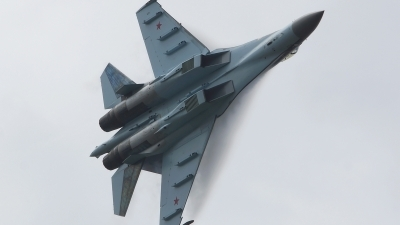 Photo ID 123496 by Lukas Kinneswenger. Russia Air Force Sukhoi Su 35S,