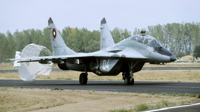 Photo ID 122579 by Joop de Groot. Bulgaria Air Force Mikoyan Gurevich MiG 29UB 9 51, 04