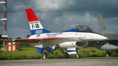 Photo ID 122589 by Sven Zimmermann. Netherlands Air Force General Dynamics F 16A Fighting Falcon, J 229