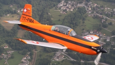 Photo ID 122677 by Ludwig Isch. Private Fliegermuseum Altenrhein Pilatus PC 7 Turbo Trainer, T7 FMA