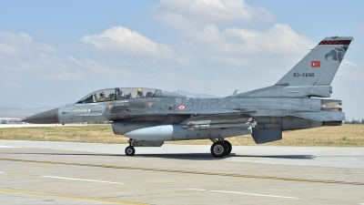 Photo ID 122682 by Lieuwe Hofstra. Turkey Air Force General Dynamics F 16D Fighting Falcon, 93 0696