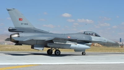 Photo ID 122683 by Lieuwe Hofstra. Turkey Air Force General Dynamics F 16C Fighting Falcon, 07 1003