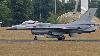 Photo ID 123129 by Niels Roman / VORTEX-images. Belgium Air Force General Dynamics F 16AM Fighting Falcon, FA 129