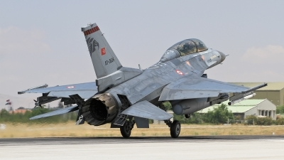 Photo ID 122767 by Bulent KAVAKKORU. Turkey Air Force General Dynamics F 16D Fighting Falcon, 93 0696