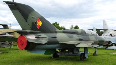 Photo ID 124516 by Peter Boschert. Germany Air Force Mikoyan Gurevich MiG 21U 600, 23 94
