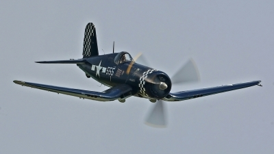 Photo ID 123089 by David F. Brown. Private F4U Inc Goodyear FG 1D Corsair, NX83JC