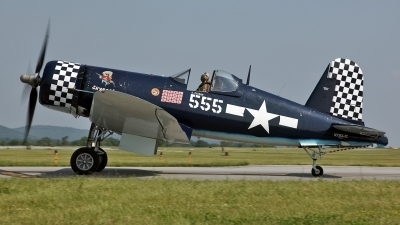Photo ID 123125 by David F. Brown. Private F4U Inc Goodyear FG 1D Corsair, NX83JC