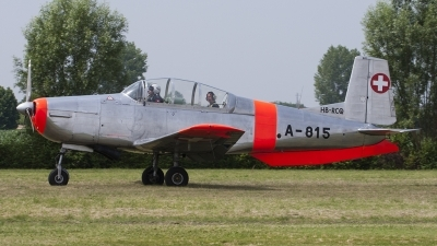 Photo ID 123210 by Roberto Bianchi. Private P 3 Flyers Pilatus P 3 05, HB RCQ