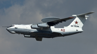 Photo ID 123309 by Thomas Ziegler - Aviation-Media. Russia Air Force Beriev A 50, RF 50610