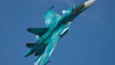 Photo ID 123368 by Thomas Ziegler - Aviation-Media. Russia Air Force Sukhoi Su 34 Fullback, RF 92251