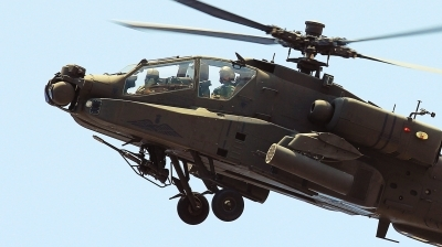 Photo ID 124538 by XRISTINA PATSI. Greece Army Boeing AH 64DHA Apache, ES1028