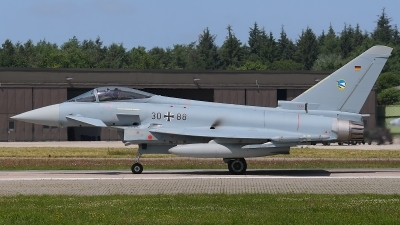 Photo ID 123414 by Rainer Mueller. Germany Air Force Eurofighter EF 2000 Typhoon S, 30 88