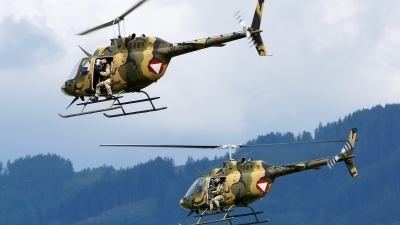 Photo ID 123462 by Lukas Kinneswenger. Austria Air Force Bell OH 58B Kiowa, 3C OC