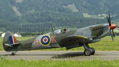 Photo ID 123522 by Thomas Ziegler - Aviation-Media. Private Private Supermarine 361 Spitfire LF16E, G MXVI