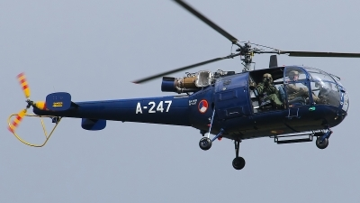 Photo ID 123532 by Rainer Mueller. Netherlands Air Force Aerospatiale SA 316B Alouette III, A 247