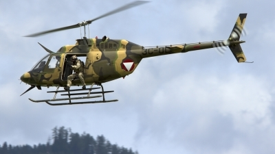Photo ID 123978 by Rudolf Chocholacek. Austria Air Force Bell OH 58B Kiowa, 3C OC