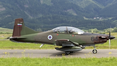 Photo ID 123553 by Thomas Ziegler - Aviation-Media. Slovenia Air Force Pilatus PC 9M, L9 64