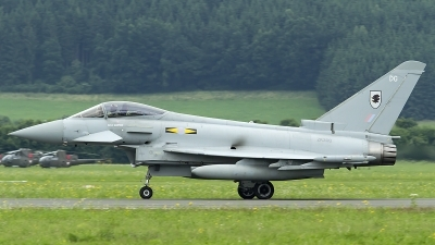 Photo ID 123693 by Thomas Ziegler - Aviation-Media. UK Air Force Eurofighter EF 2000 Typhoon FGR4, ZK300