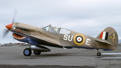 Photo ID 123744 by Baldur Sveinsson. Private Private Curtiss Kittyhawk IA P 40E, NX94466