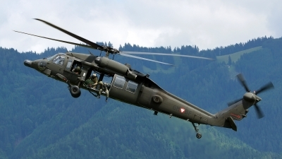Photo ID 123804 by Lukas Kinneswenger. Austria Air Force Sikorsky S 70A 42 Black Hawk, 6M BF