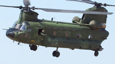 Photo ID 124184 by Tony Draps. Netherlands Air Force Boeing Vertol CH 47D Chinook, D 665