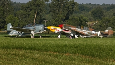 Photo ID 125436 by David F. Brown. Private 1941 Historical Aircraft Group Curtiss P 40M Warhawk, NX1232N